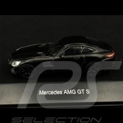 Mercedes - AMG GT S Noir Black Schwarz mat 1/87 Schuco 452628000