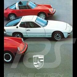 Porsche Brochure Porsche Range 1979 in french