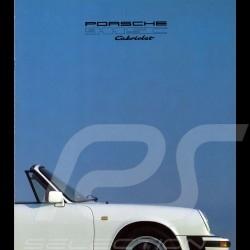 Porsche Brochure 911 SC Cabriolet in french