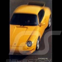 Brochure Porsche Gamme Porsche USA 1995 dépliant en anglais