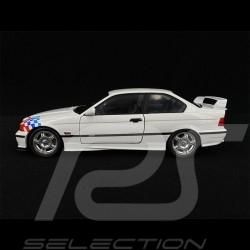 BMW E36 Coupé M3 Lightweight 1995 Blanc white weiß Damier 1/18 Solido S1803903