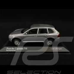 Porsche Cayenne V6 2002 grau 1/43 Minichamps 400061010