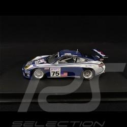 Porsche 911 GT3 RS Type 996 n° 75 24h Le Mans 2002 1/43 Minichamps 403026975