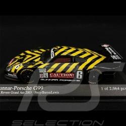 Porsche 911 GT1 Type 996 Gunnar G99 n° 6 Grand Am 2003 1/43 Minichamps 400036886