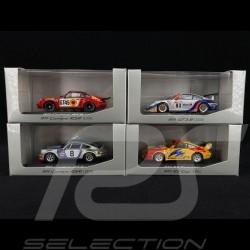 Set Porsche 911 Racing Legends 1/43 Minichamps WAP020SET05