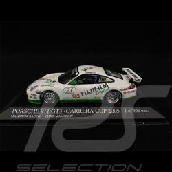 Porsche 911 GT3 Type 996 n° 21 Carrera Cup 2005 1/43 Minichamps 403056221