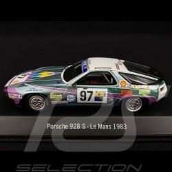 Porsche 928 S Le Mans 1983 n° 97 1/43 Spark S3407