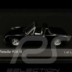 VW Porsche 914 4 2.0 1973 black 1/43 Minichamps 430065671