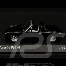 VW Porsche 914 4 2.0 1973 noire black schwarz 1/43 Minichamps 430065671