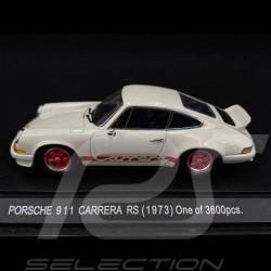 Porsche 911 Carrera RS 2.7 1973 blanche / rouge 1/43 Ebbro 262
