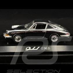 Porsche 911 1963 Edition anniversaire 40 ans chrome 1/43 Minichamps WAP02010514