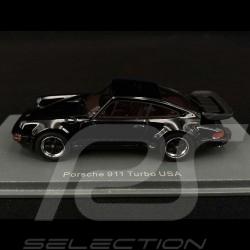 Porsche 911 Turbo type 930 modèle USA 1985 noire 1/43 Neo 43255