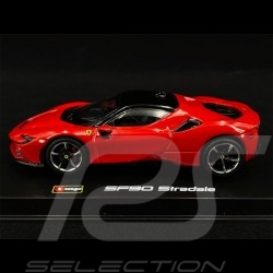 Ferrari SF90 Stradale Rouge red rot Signature series 1/43 Bburago 36911