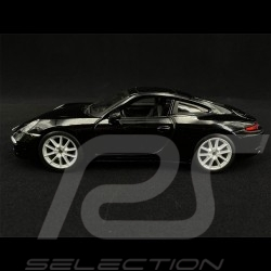 Porsche 911 Type 991 Carrera S 2012 Black 1/24 Bburago 21065