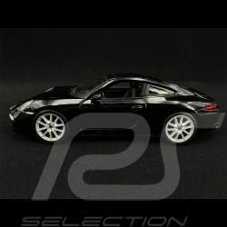 Porsche 911 Type 991 Carrera S 2012 Noir black schwarz 1/24 Bburago 21065