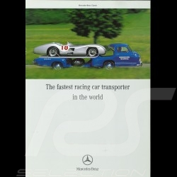 Brochure Mercedes-Benz 300 SLR W196S 07/2003 in english MEW14001-01