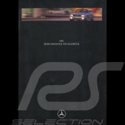 "Brochure Mercedes-Benz AMG "" Mehr Emotionen Pro Kilometer "" 08/1995 in german AG004015-01"