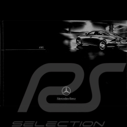 Mercedes Brochure Mercedes-Benz AMG 2004 08/2004 in french AG004041-01