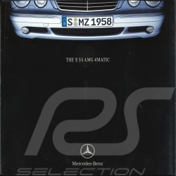 Brochure Mercedes - Benz E 55 AMG 4MATIC 06/2001 in english AGZZ4021-02