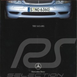 Brochure Mercedes - Benz S 63 AMG 06/2001 in english AGZZ4022-02