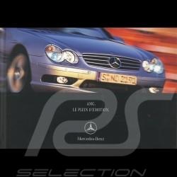 Mercedes Brochure Mercedes-Benz AMG Le Plein d'Emotion 2001 08/2001 in french AG004034-01