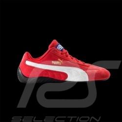 Puma Sparco Speedcat Sneaker Schuhe - rot / weiß - herren