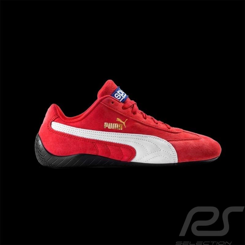 Chaussures Sport Puma Sparco Speedcat Sneaker / Basket - Rouge / Blanc - Homme