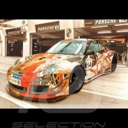 Porsche Poster Poster Porsche 911 Type 991 Cup François Bruère - VA141