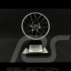 Jante wheel rim rähe Porsche 997.2 Turbo 2010 noir / argent 1/5 Minichamps 500601998