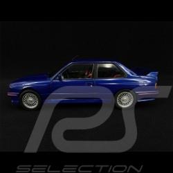 BMW E30 M3 1990 blue mauritius blau Bleu Maurice 1/18 Solido S1801509
