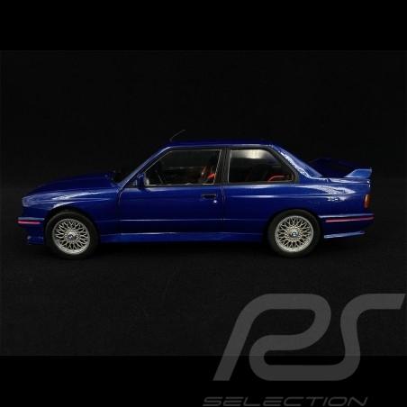 BMW E30 M3 1990 Mauritius Blue 1/18 Solido S1801509