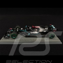 Mercedes - AMG Petronas F1 n° 44 World Champion 2020 Hamilton 1/43 Spark S6488