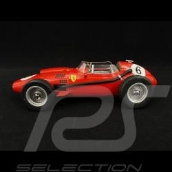 Ferrari F1 Dino 246 GP du Maroc 2nd Wolrd Champion 1958 n° 6 1/18 CMR CMR162