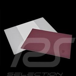 Etui pour livre de bord Porsche 911 / 914 / 924 / 944 / 928 board folder case Bordmappe Simili cuir rouge WKD48551000