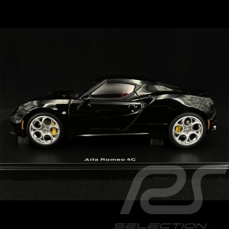 Alfa Romeo 4C 2013 Noir black schwarz Brillant 1/18 AutoArt 70184