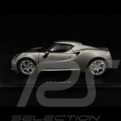 Alfa Romeo 4C 2013 Gris grey grau Metallisé 1/18 AutoArt 70187