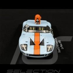 "Ford GT40 Camera Car Movie "" Le Mans "" Gulf 1/43 Schuco 450899600"
