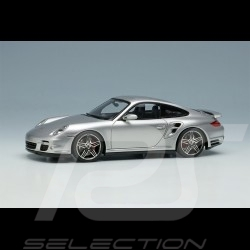 Porsche 911 Turbo Type 997 2006 GT Silver Metallic 1/43 Make Up Vision VM190A