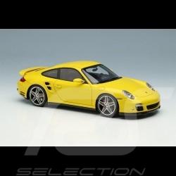 Porsche 911 Turbo Type 997 2006 Speed Yellow 1/43 Make Up Vision VM190B
