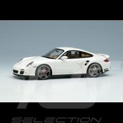 Porsche 911 Turbo Typ 997 2006 Carraraweiß 1/43 Make Up Vision VM190C