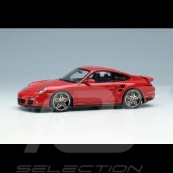 Porsche 911 Turbo Type 997 2006 Rouge Indien guards red indischrot 1/43 Make Up Vision VM190D