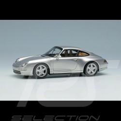 Porsche 911 Carrera 4 Type 993 1995 Argent Polaire 1/43 Make Up Vision VM145A
