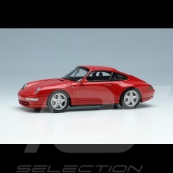 Porsche 911 Carrera 4 Type 993 1995 Guards Red 1/43 Make Up Vision VM145B