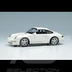Porsche 911 Carrera 4 Type 993 1995 Blanc white weiß Grand Prix 1/43 Make Up Vision VM145C