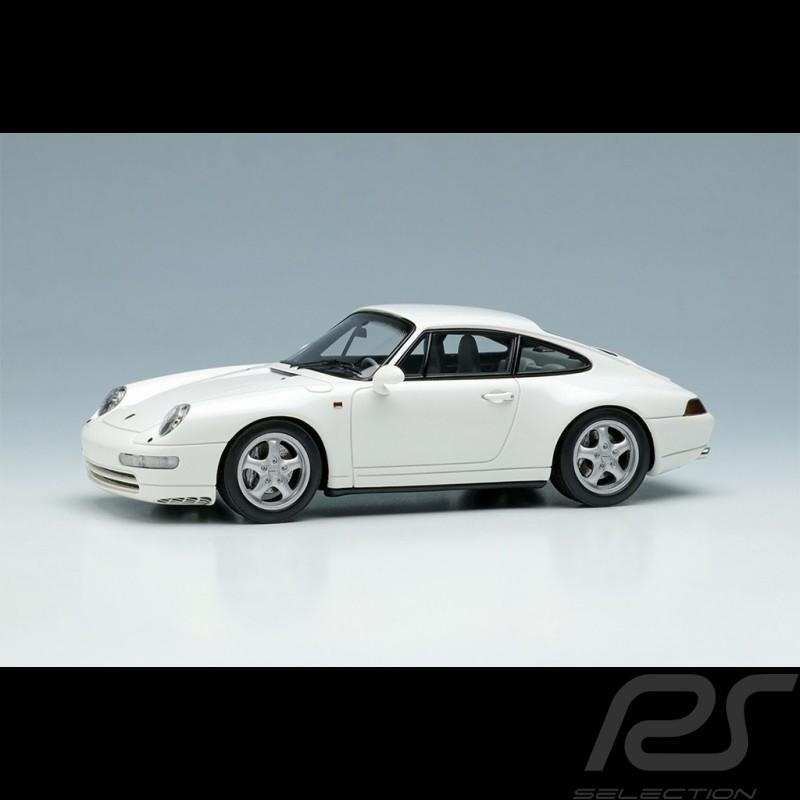 Porsche 911 Carrera 4 Type 993 1995 Grand Prix White 1/43 Make Up Vision VM145C