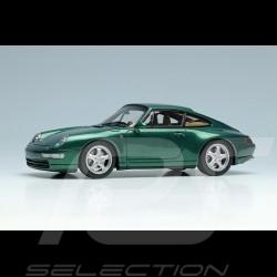 Porsche 911 Carrera 4 Typ 993 1995 Dunkelgrün Metallic 1/43 Make Up Vision VM145D