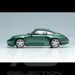 Porsche 911 Carrera 4 Type 993 1995 Dark Green Metallic 1/43 Make Up Vision VM145D