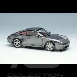 Porsche 911 Carrera 4 Type 993 1995 Gun Metallic 1/43 Make Up Vision VM145E