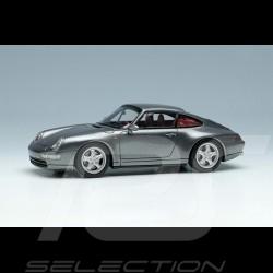Porsche 911 Carrera 4 Typ 993 1995 Gun Metallic 1/43 Make Up Vision VM145E