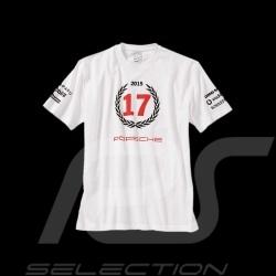 T-shirt Porsche Le Mans 2015 n° 17 mixte blanc Porsche Design WAP971